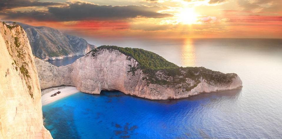 яхтинг в греции навайо